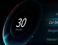 Car User interface - MoonLight