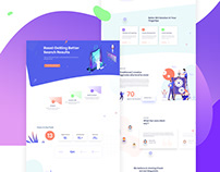 SEO Service and Digital Agency Landing Page