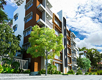 EXTERIOR APARTMENT DESIGN FOR RAYHAN