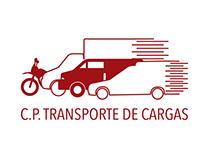 Logo + Cartão de visita: C.P. Transporte de Cargas