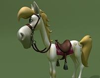 Cartoon Horse of Luke
