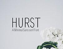 Free Hurst Sans Serif Font