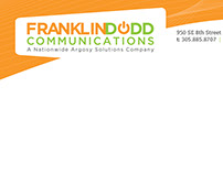 Stationery package - Franklin Dodd Communications
