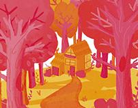 Into the Florest | Illustration