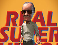 The real superhero - STAN LEE !!