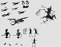 Sketches - concept