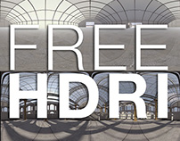 Free HDRI Hall Interior