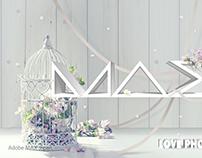 ADOBE MAX CHALLENGE参加 title:Flower Max Japan
