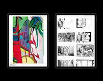 WEBSITE FOR ARTIST FLORENTIJN DE BOER