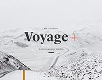Voyage Plus Photo Organizing interface