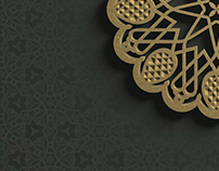 Alhambra geometric design