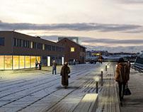 Havnepromenaden, Vadsø