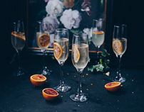 New Year Eve styling for GLASMARK