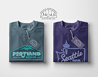 Pacific Northwest Clothing Co. // Portland & Seattle