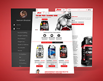 TSS Supplements Responsive Website