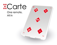 CARTE - a new remote for senior TV viewers