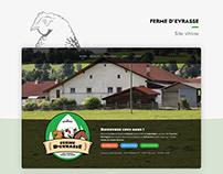 Ferme d'Evrasse - Site Internet