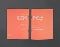 Paper No.1: Business in Design