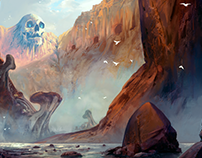 Skull Canyon Environment Concept Art