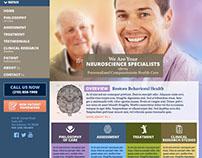 Restore Behavioral Health - web design