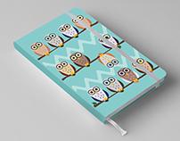 Ilustraciones para Blocs de Notas