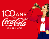 100 ans Coca-Cola - Activation