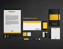Glooxy Plus - the power of yellow | Branding