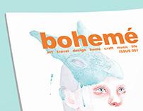 Bohemé Magazine Design