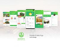 Agrobits | Mobile App & Web App Ui / Ux Design
