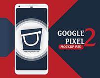 FREE Google Pixel 2 XL Mockup PSD