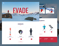 Evade - Ecommerce Ski equipment