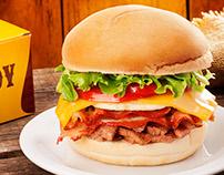 Hamburguers & Hot Dogs - Food Styling