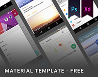 Free material template