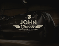 John Classic vintage cars - Branding - Photo