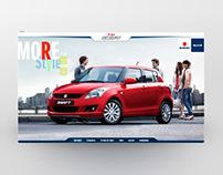 Suzuki Swift web site