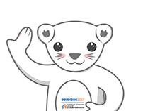 Mascot for European indoor athletic championship 2017