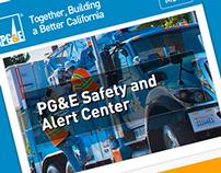 PG&E Safety & Alert Center