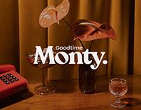 Goodtime Monty – branding