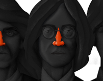 The Beatles/Editorial illustration
