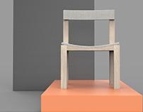 Low-key chair