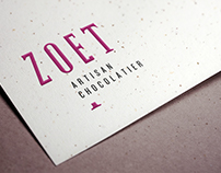 ZOET ARTISAN CHOCOLATIER // Corporate Identity