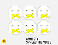 Amnesty Spread the Voice | D&AD New Blood 2016