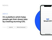 Smart CV branding and website