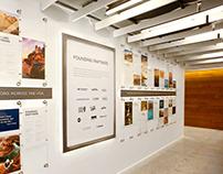 Partner Recognition Wall Installation
