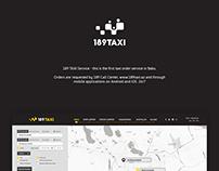 189 Taxi / Web design