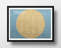 The Beach Boys: Studio Albums | Information Graphic