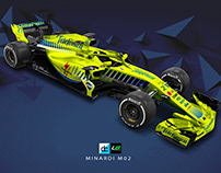'Re-Imagined' Minardi M02 Livery