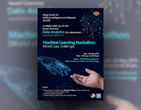 Machine Learning Hackathon Poster
