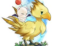 Final Fantasy : Chocobo and Moogle