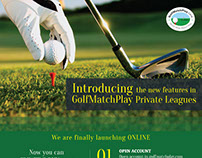 Flyer for Golfer